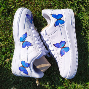 Custom Nike, Butterfly AF1 Shoes,